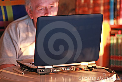 De hoek van de computer