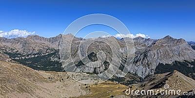 Landschap in Alpen