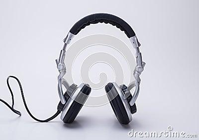 De hoofdtelefoons