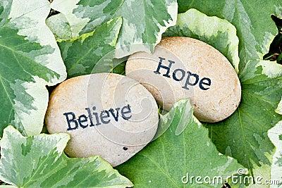 De hoop en gelooft