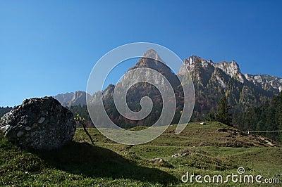De horizon van de Karpaten