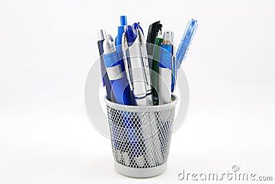 De houder van het potlood