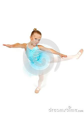 De Houding van de ballerina