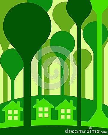 De huizen van Eco