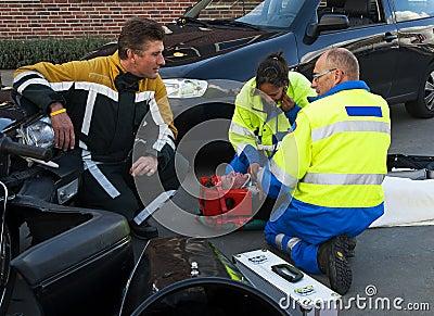 De Hulp van de Neerstorting van de auto