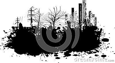 De illustratie van Grunge