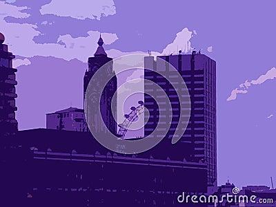 De Illustratie van Londen