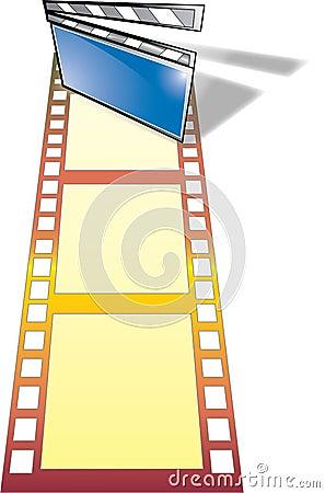 De industrie van de film