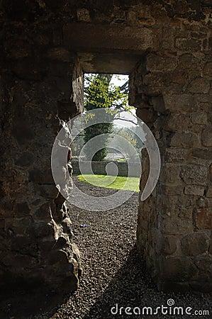 De Ingang van het klooster