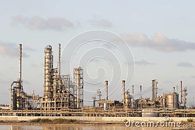 De Installatie van petrochemische stoffen