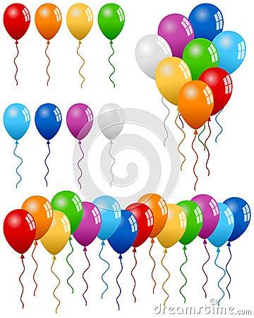 De Inzameling van de Ballons van de partij
