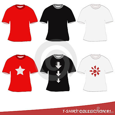 De inzameling van de t-shirt #1