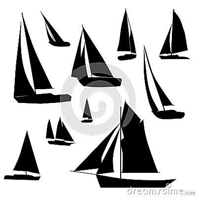 De Inzameling van de zeilboot