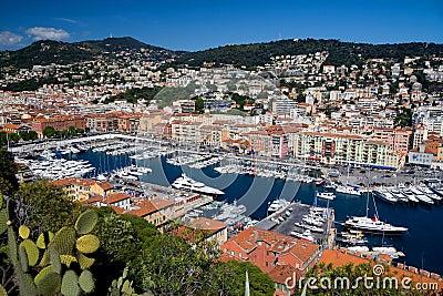 De Jachthaven van Nice