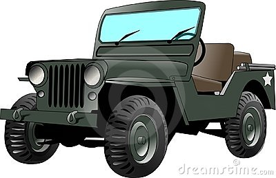 De Jeep van het leger