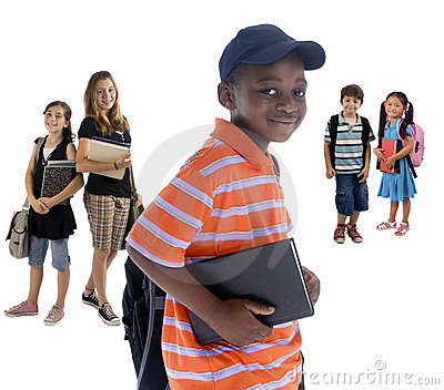 De Jonge geitjes van de school