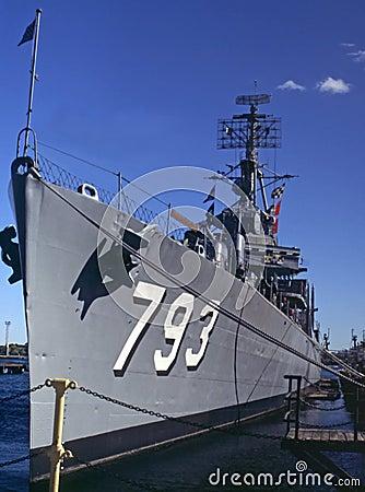 De jonge torpedojager van Cassin