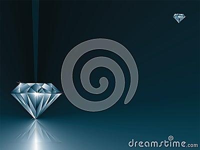 De kaart van de diamant