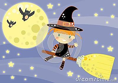 De kaart van Halloween
