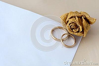 De kaart van het huwelijk