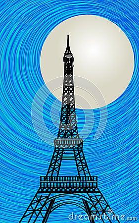 De kaart van Parijs