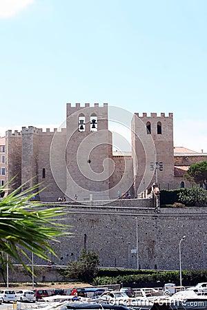 De kampioen van kerkheilige in Marseille
