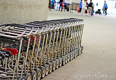 De Kar van de bagage