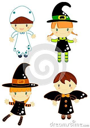 De karakters van Halloween