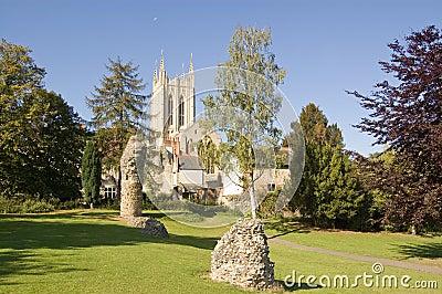 De kathedraal, begraaft St Edmunds