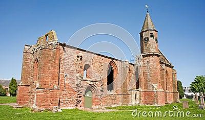 De kathedraal van Fortrose; historische ruïnes.