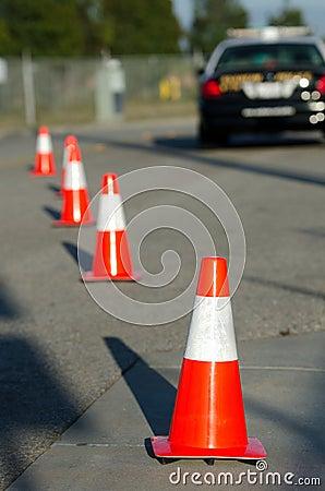 De Controle van het verkeer