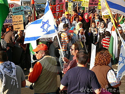 De Kerstman Clara Californië van Maart van de vrede Redactionele Foto