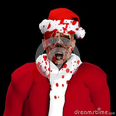 De Kerstman van de zombie