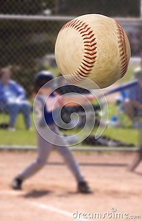 De klap van het honkbal