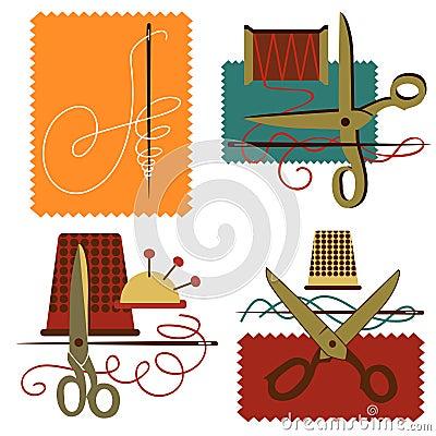 De kleermakerij van het pictogram