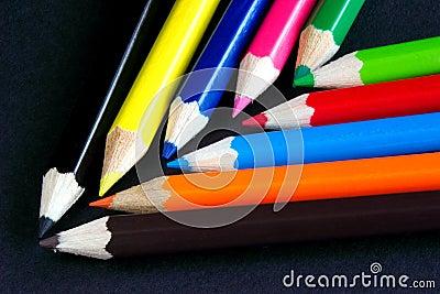 De kleuren van de chevron