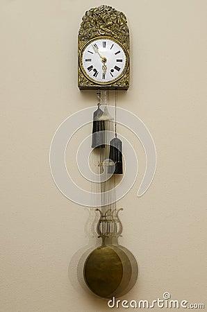 De klok van de slinger
