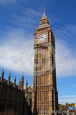 De Klokketoren van de Big Ben
