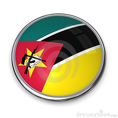 De Knoop Mozambique van de banner