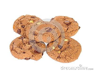 De koekjes van de chocolade