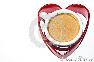 De koffie van de liefde