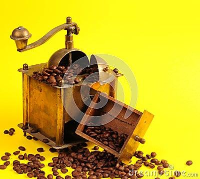 De koffiemachine van de antiquiteit