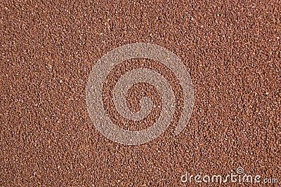 De koffietextuur van de grond