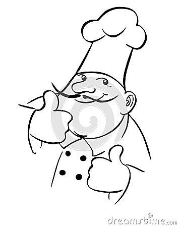De kok van de chef-kok