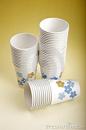 De koppen van de koffie