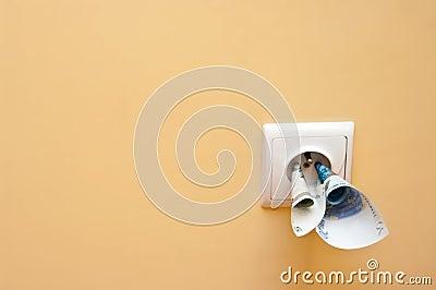 De kosten van de elektriciteit