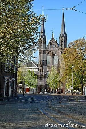 De krijtberg church Amsterdam
