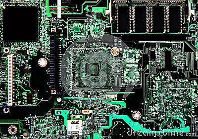 De kringsraad van de computer