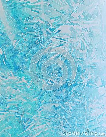 De Kristallen van het ijs
