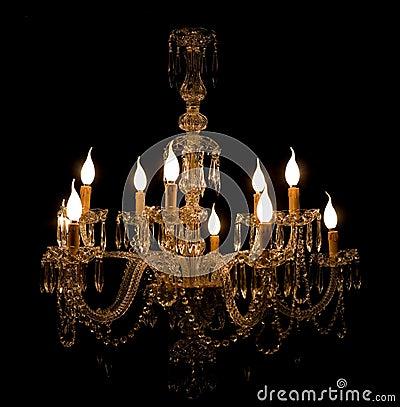 De kroonluchter van het glas van murano van de luxe stock afbeelding afbeelding 9974041 - Eigentijdse kroonluchter ...